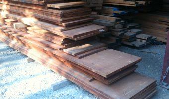 stacks of genuine mahogany