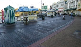 ipe boardwalk in disney world