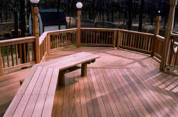 ipe deck outdoor